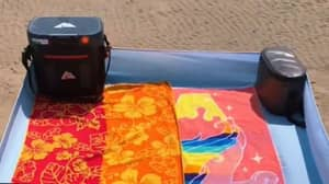 Woman Shares 'Genius' Beach Hack Which Keeps Sand Away