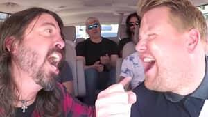 Foo Fighters Say Carpool Karaoke With James Corden Was Embarrassing