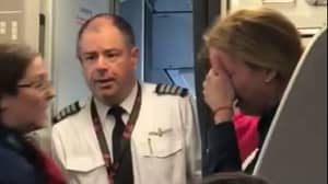 American Airlines Attendant Suspended After Leaving Mum Sobbing On Flight