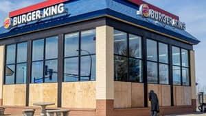 Pranksters Trick Burger King Staff Into Smashing All The Store Windows