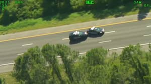 Man Steals Two Police Cars During Wild 60-Mile Chase With Cops