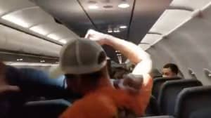 Passenger Gets Duct-Taped To Seat After 'Punching And Groping' Flight Attendants