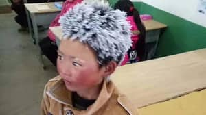 ​£245k Raised For Chinese Boy Whose Hair Froze On Way To School