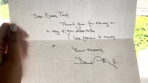 David Attenborough Sends Handwritten Letter To Student Who Sent Him Her Dissertation