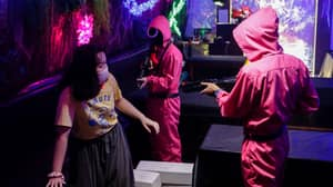 Hundreds Flock To Squid Game Inspired Cafe That Creates Real Challenges For Customers