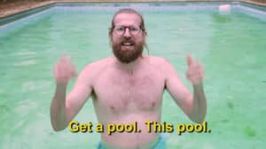 Man Makes Hilarious Promo Video To Sell His London Flat With A Pool
