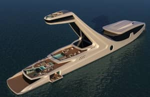 This Luxurious Super Yacht Concept Is Ridiculous