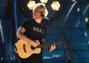 Ed Sheeran's Grammy Performance Was Something Else