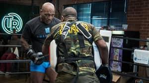 Mike Tyson Shares Explosive Training Video Ahead Of Roy Jones Jr Fight