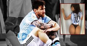 Miss BumBum Begs Lionel Messi To Reconsider Retirement In Latest Post