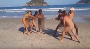 Rio Hosts The Naked Olympics
