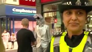 Mime Artist Shouts 'F**k Off' On Live BBC News Report