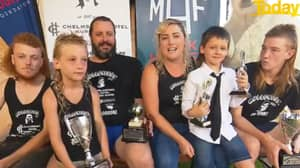 'Mediocre Mullet Man' Takes Out Top Award At MulletFest 2021