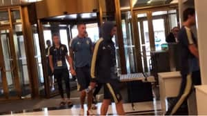 Sweden Team Woken Early After Fire Alarm Goes Off In Hotel