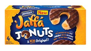 McVitie's Sparks New Jaffa Cake Debate With Launch Of Jonuts