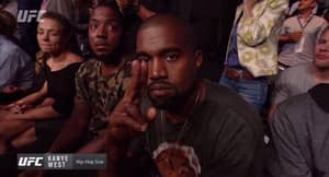 Kanye West Told Mike Tyson To Get Out Of His Seat At UFC 202