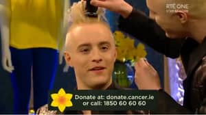 Jedward Shave Off Iconic Quiffs To Raise Money For Charity