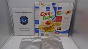 Customs Intercept $2.8 Million Of Cocaine-Coated Corn Flakes