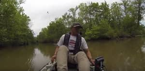 Fisherman Gets Truly Terrifying Surprise At The End Of His Line