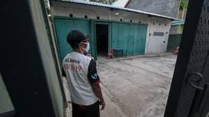 Coronavirus Quarantine Breakers Locked Away In 'Haunted Houses' In Indonesia