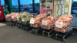 Wales Asda Store Praised For Giving Excess Vegetables Away For Free
