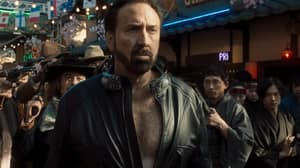 Nicolas Cage Fights Cowboys And Samurais In Trailer For What He Says Is His 'Wildest Movie Ever'