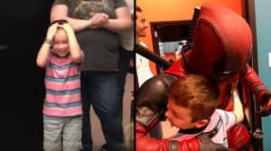 Superheroes Surprise Heartbroken Boy After Only One Friend Turns Up To His Birthday Party