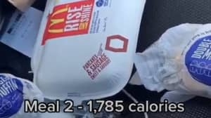 TikToker Shares What He Ate While Attempting A 10,000 Calorie Day
