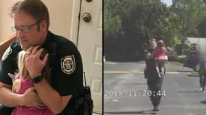 Police Officer Rescues Unconscious Three-Year-Old Girl From Hot Car She Was Left In Overnight