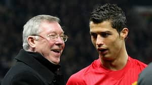Cristiano Ronaldo Pays Tribute To Former Manchester United Manager Alex Ferguson
