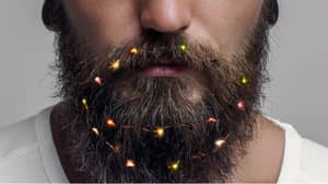 You Can Now Buy Christmas Fairy Lights For Beards