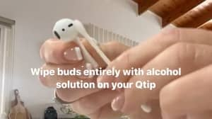 Mum Says Apple AirPods Need To Be Cleaned Once A Week And Explains How To Do It