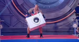 Why Not Watch 'The Mountain' From Game Of Thrones Throwing A Washing Machine?