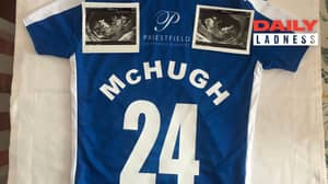 Dad-To-Be Announces Baby Like A Transfer Deadline Day Signing