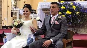 Woman Gets Married After Spine Tumour Paralysed Her In Just Four Weeks