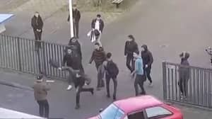 Students Fend Off Knife Attacker With School Bags In The Netherlands