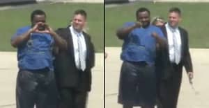 FBI's Most Wanted Criminal Does Kiki Challenge During Extradition