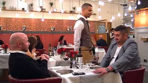 'Rudest Man Ever' Makes Date Leave Before The Main Course On 'First Dates'