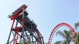Rollercoaster Malfunction Leaves Tourists Hanging On A 90 Degree Angle