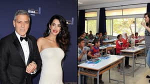 George and Amal Clooney To Put Nearly 3,000 Refugee Children Through School