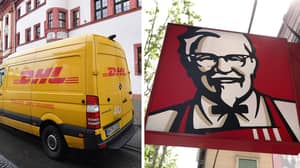 Courier Company DHL Apologies For Clucking Up KFC Deliveries