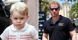 Prince Harry Left Red-Faced By Prince George At Dinner With The Obamas