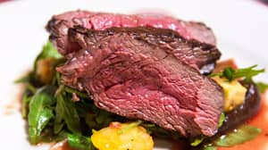 Sainsbury's Joins The Steak Game By Topping It With Gold Leaves