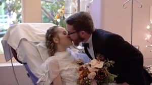 Mum Battling Stage 4 Cancer Gets Married To Long Time Partner In Hospital Bed