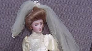 Family 'Haunted By Doll' Lock It In Shed After Husband Is Attacked