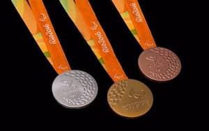 Visually Impaired Athletes' Special Way To Tell What Medal They've Won