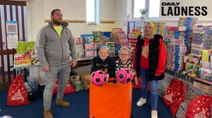 Family Collects More Than 5,000 Presents For Families In Need This Christmas