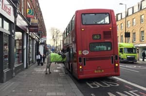 'Single, Please!': Photo Shows Bizarre Sight Of Police Horse Getting On Bus