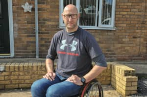 A 6ft 7 Wheelchair Bound Army Vet Fought Off Knife Wielding Thieves
