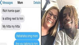 Mum Sits Next To Rich Homie Quan On Plane, Gets Rapper To Send Selfie To Her Daughter, Feels Some Type Of Way